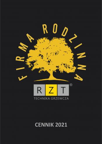 Cennik 2021 produktów firmy RZT Technika Grzewcza